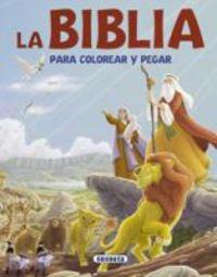 La biblia para colorear y pegar - Aa. Vv.