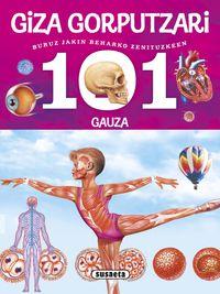 giza gorputzari buruz jakin beharko zenituzkeen 101 gauza - Miriam Baquero / Niko Dominguez