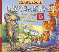 txantiloiak dinosauroak - Batzuk