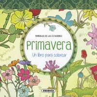 Primavera - Un Libro Para Colorear - Aa. Vv.
