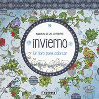 Invierno - Un Libro Para Colorear - Aa. Vv.