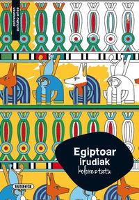 Egiptoar Irudiak - Koloreztatu - Batzuk