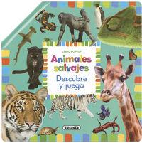 ANIMALES SALVAJES - POP-UP DESCUBRE Y JUEGA