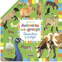 ANIMALES DE LA GRANJA - POP-UP DESCUBRE Y JUEGA