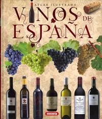 Vinos De España - Atlas Ilustrado - Aa. Vv.