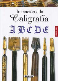 INICIACION A LA CALIGRAFIA