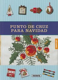 PUNTO DE CRUZ PARA NAVIDAD