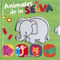 ANIMALES DE LA SELVA - ¿DE QUE COLOR SOY?
