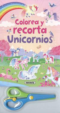COLOREA Y RECORTA UNICORNIOS (S3430001)