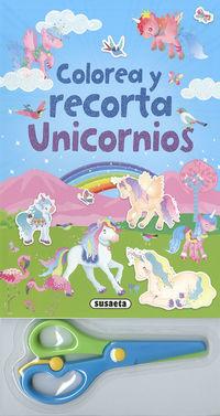 COLOREA Y RECORTA UNICORNIOS (S3430002)