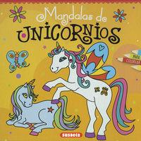 MANDALAS DE UNICORNIOS PARA COLOREAR (S6058002)