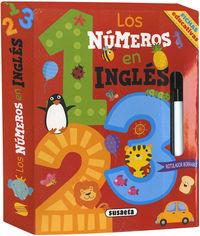 NUMEROS EN INGLES, LOS - FICHAS EDUCATIVAS