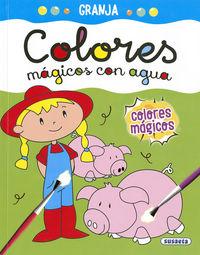 GRANJA - COLORES MAGICOS CON AGUA
