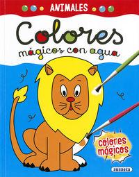 ANIMALES - COLORES MAGICOS CON AGUA