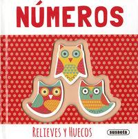 NUMEROS - RELIEVES Y HUECOS