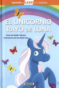 UNICORNIO RAYO DE LUNA, EL - APRENDO A LEER CON SUSAETA - NIVEL 0