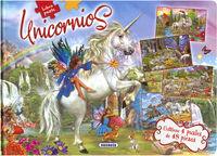 UNICORNIOS - LIBRO PUZLE 48 PIEZAS