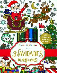 NAVIDADES MAGICAS (+4 ROTULADORES Y PURPURINA)