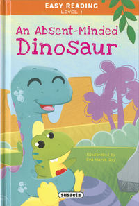 AN ABSENT-MINDED DINOSAUR - EASY READING - NIVEL 1