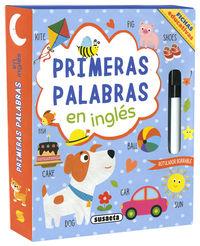 PRIMERAS PALABRAS EN INGLES - FICHAS EDUCATIVAS
