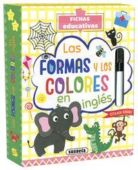 LAS FORMAS Y LOS COLORES EN INGLES - FICHAS EDUCATIVAS