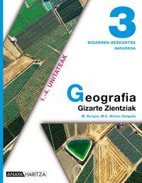 DBH 3 - GEOGRAFIA NAFARROA (HIRUH. )