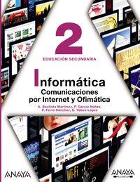 ESO 2 - INFORMATICA - COMUNICACIONES POR INTERNET Y OFIMATICA