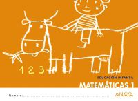 3 AÑOS - MATEMATICAS 1 - ¡QUE IDEA!