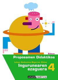 LH 4 - INGURUA GIDA - BIDEAN
