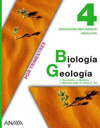 Eso 4 - Biologia Y Geologia (trim) (and) - Aa. Vv.