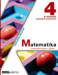 DBH 4 - MATEMATIKA B (HIRUH. )