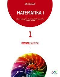 BATX 1 - MATEMATIKA (NN. ZZ. ) (HIRUH. ) - HAZI ETA HEZI BAT EGINIK (PV)
