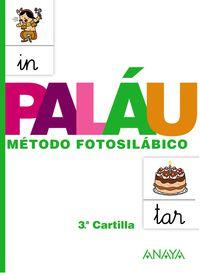 CARTILLA NUEVO PALAU 3 - METODO FOTOSILABICO