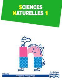 EP 1 - SCIENCES NATURALES (FRANCES)