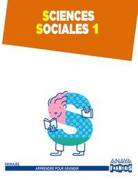 EP 1 - SCIENCES SOCIALES (FRANCES)