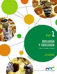 Eso 1 - Biologia Y Geologia (pv, Nav, Rio, Mad) - Apre. Crec. Conex. - Aa. Vv.