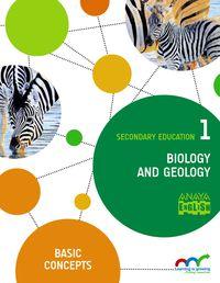ESO 1 - BIOLOGIA Y GEOLOGIA (INGLES) - BIOLOGY & GEOLOGY BASIC CONCEPT - LEAR. GROW.