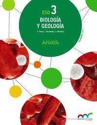 Eso 3 - Biologia Y Geologia (pv, Nav, Rio, Mad) - Apre. Crec. Conex. - Aa. Vv.