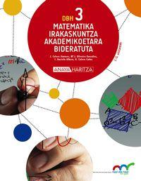 Dbh 3 - Matematika (akademikoetara) (hiruh. ) - Hazi Eta Hezi Bat Eginik (pv) - Batzuk