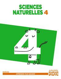 EP 4 - NATURALES (FRANCES) (ARA) - SCIENCES NATURELLES - APPRE. GRANDIR