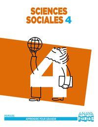EP 4 - SOCIALES (FRANCES) (ARA) - SCIENCES SOCIALES - APPRE. GRANDIR
