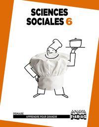 EP 6 - SOCIALES (FRANCES) (ARA) - SCIENCES SOCIALES - APPRENDRE POUR GRANDIR