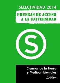 SELEC - CIENCIAS DE LA TIERRA Y DEL MEDIO AMBIENTE