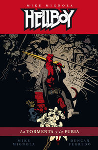 hellboy 16 - la tormenta y la furia - Mike Mignola
