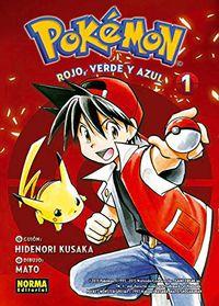 Pokemon 1 - Rojo, Verde Y Azul 1 - Hidenori Kusaka / Satoshi Yamamoto
