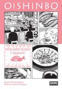 Oishinbo A La Carte 4 - Pescado, Sushi Y Sashimi - Kariya / Hanasaki