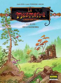 MAZMORRA - CREPUSCULO 111 - EL FINAL DE LA MAZMORRA