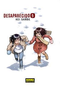 Desaparecido 5 - Kei Sanbe