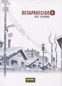 Desaparecido 8 - Kei Sanbe