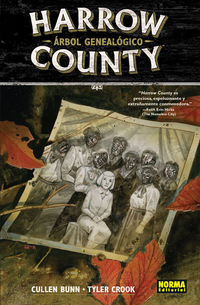 harrow county 4 - arbol genealogico - Cullen Bunn / Tyler Crook